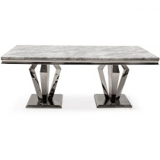 Arturo Dining Table Grey 1800