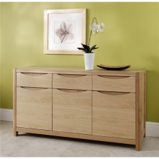 Malmo 3 Door Sideboard