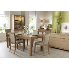 Malmo Extending Dining Table 4-8 Seater