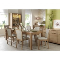 Malmo Extending Dining Table 6-10 Seater