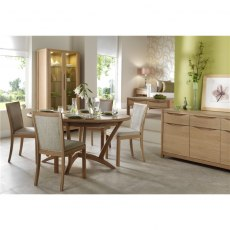 Malmo Oval Extending Dining Table