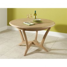 Malmo Round Extending Dining Table