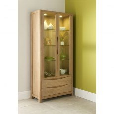 Malmo Tall Display Cabinet