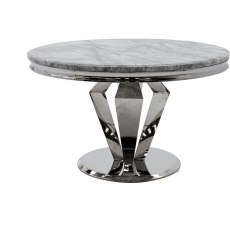 Arturo Round Dining Table Cream 1300