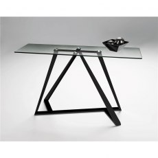 Constellation Console Table - Stainless Steel