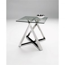 Constellation Lamp Table - Stainless Steel