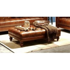 Chesterfield Rectangular Footstool