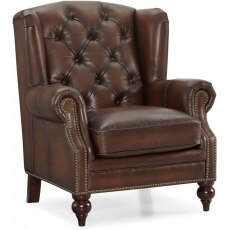 Chesterfield Wing Chair (Push Back)