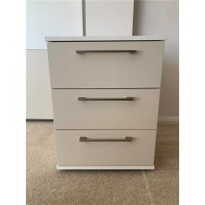 Clearance - Bedroom Disselkamp Studioline 3 Drawer Chest