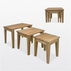 Windsor Dining - Oak Nest of Tables