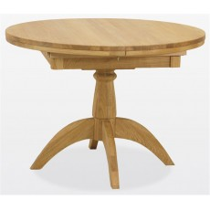 Windsor Dining - Oak Single Pedestal Table