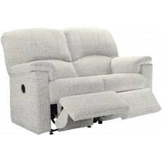 Chloe 2 Seater Recliner Sofa Double