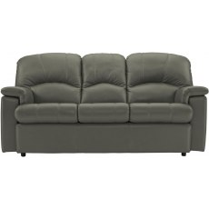 Chloe (Leather) 3 Seater Sofa