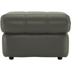 Chloe (Leather) Footstool