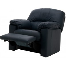 Chloe (Leather) Small Power Recliner Chair