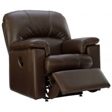 Chloe (Leather) Small Recliner Chair