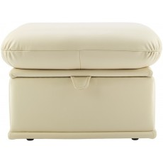 Malvern (Leather) Storage Footstool