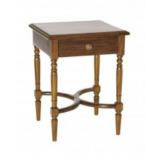 Mahogany Occasional Durham Lamp Table