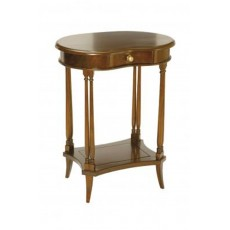 Mahogany Occasional Kidney Side Table