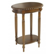 Mahogany Occasional Oval Side Table
