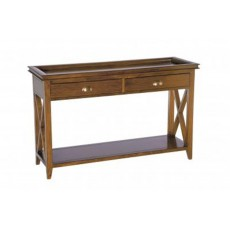 Mahogany Occasional Oxford Console Table