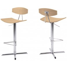 Contemporary Dining Blaise Barstool  Chrome