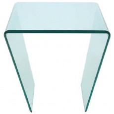 Glass collection Curvo Lamp Table