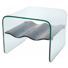 Glass collection Ripple Lamp Table