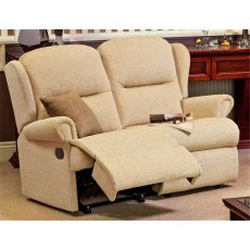 Malvern Small 2 Seater Rechargeable Powered Recliner