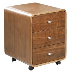 Curve Office 3 Drawer Unit