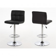 Contemporary Dining Hot Barstool - Black