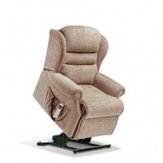 Ashford Leather Small  Electric Lift Recliner - Single Motor