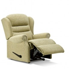 Ashford Leather Small Recliner