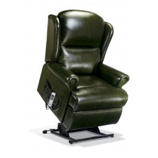 Malvern Leather Royale Electric Lift Recliner - Dual Motor