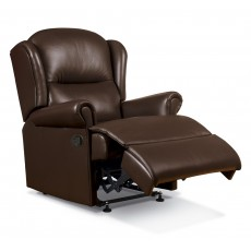 Malvern Leather Small Recliner