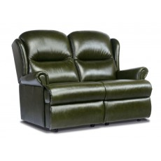 Malvern Leather Standard 2 Seater Fixed Sofa