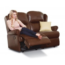 Malvern Leather Standard 2 Seater Powered Recliner