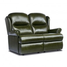Malvern Leather Standard 2 Seater Recliner Sofa