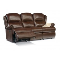 Malvern Leather Standard 3 Seater Recliner Sofa