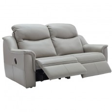 Firth (Leather) 3 Seater Power Recliner Sofa Double
