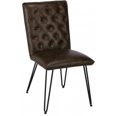 Chairs Lewis Dining Chair Dark Brown