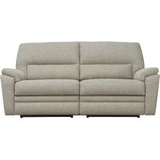 Hampton Large 2 Seater Manual Recliner Sofa