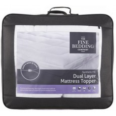Fine Bedding Company Mattress Toppers Dual Layer