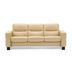Wave Low Back 3 Seater Sofa