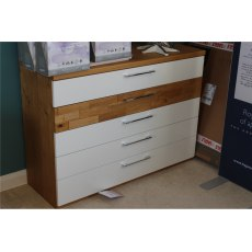Clearance - Bedroom Cesan 5 Drawer Chest