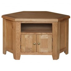Steyning Corner TV Unit with Wooden Doors