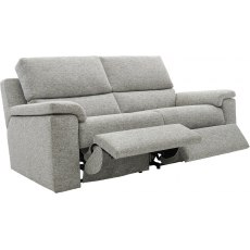 Taylor (Fabric) 3 Seater Manual Recliner Double