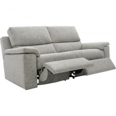 Taylor (Fabric) 3 Seater Power Recliner Double