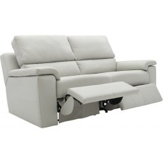 Taylor (Leather) 3 Seater Manual Recliner Double