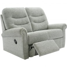 Holmes (Fabric) 2 Seater Double Manual Recliner Sofa